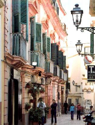 Un vicolo del centro storico