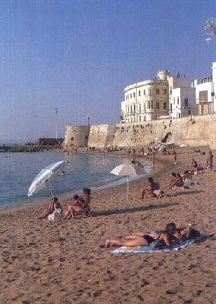 La spiaggia della Purità nel Centro storico